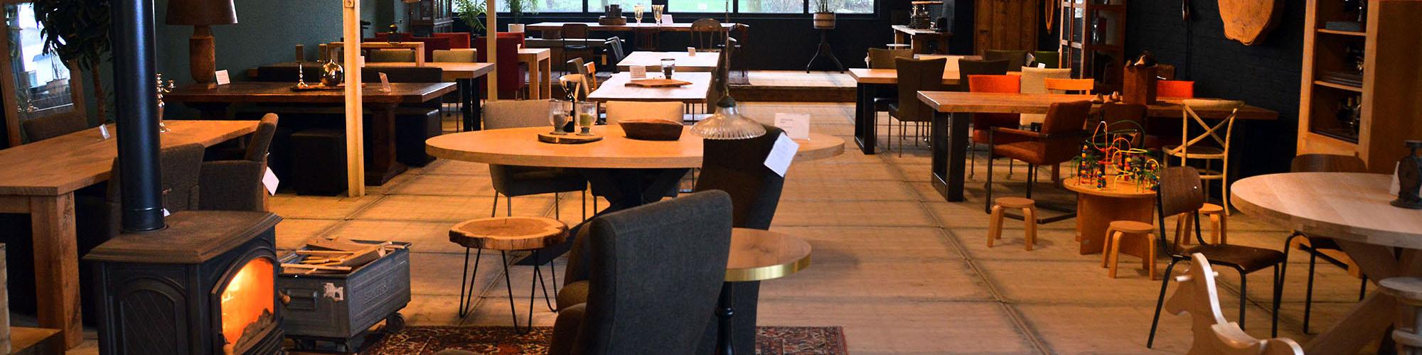 Showroom tafelmakerij heerenveen
